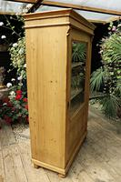 Fantastic Old Early 20th Century Pine/ Glazed Cupboard / Display Cabinet (3 of 9)