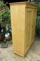 Fantastic Old Pine 2 Door Cupboard with Shelves - Linen/ Larder/ Storage / Food (4 of 10)