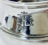 Antique Solid Sterling Silver Sugar Bowl by Walker & Hall (4 of 12)