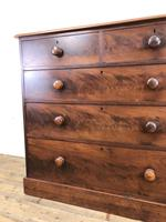 Victorian Mahogany Chest of Drawers (2 of 16)