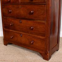Walnut Chest of Drawers Victorian 19th Century (5 of 11)