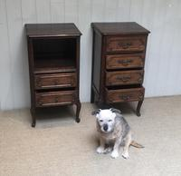 Pair of French Oak Bedside Cabinets (7 of 10)