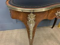 Victorian Kidney Shaped Rosewood Writing Table (6 of 18)