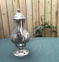 Georgian Silver Plated Coffee Pot (6 of 6)