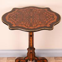 19th Century Marquetry Tripod Table (4 of 17)