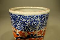 Attractive Mid 19th Century Cylindrical Imari Porcelain Stick Stand (3 of 5)