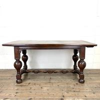 Antique Country Oak Dining Table (2 of 10)