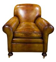 Pair of Leather Club Chairs c.1890 (7 of 11)
