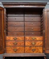 Early 18th Century Walnut Secretaire Writing Cabinet (12 of 31)