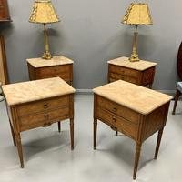 Set of 4 French Marble Top Side Tables (7 of 11)