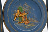 Antique Edwardian Lacquered Chinoiserie Cake Stand (7 of 12)