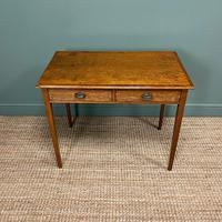 Georgian Country Oak Antique Side Table (4 of 8)
