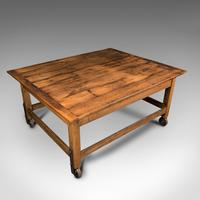 Antique Boulangerie Table, French, Pine, Shop, Bakery, Display, Victorian c.1880 (7 of 12)