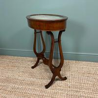 Stunning Victorian Mahogany Antique Bijouterie Table (3 of 7)