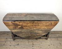 18th Century Oak Gateleg Table (3 of 10)