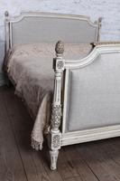 Newly Upholstered King Size Empire Style Bed (4 of 7)