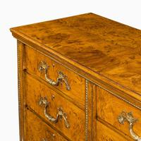 Fine George IV Burr Oak Chest of Drawers in the manner of Morel and Seddon (5 of 9)