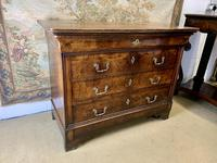 French 19th Century Burr Walnut Commode (2 of 6)