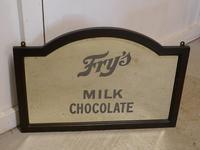 Edwardian Fry's Chocolate Advertising Mirror (3 of 4)