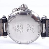 Mid-size Stainless Steel Pasha De Cartier Automatic Wrist Watch (2 of 4)