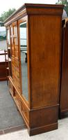1900's Large Well Fitted Burr Oak Compactum Wardrobe (5 of 6)