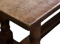 17th Century Style Oak Refectory Table c.1920 (4 of 5)