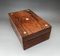 Lovely Victorian Mother-of-pearl Inlay Jewel Box (2 of 5)