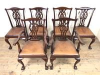 Set of Six 20th Century Dining Chairs (2 of 11)