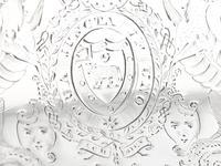 Sterling Silver Three Light Candelabrum Centrepiece - Antique George IV (14 of 21)