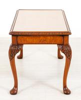 Superb Walnut Queen Anne Style Coffee Table (7 of 7)