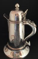 Large Silver Plated George IV Ale Jug (2 of 7)