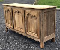 French Bleached Oak Dresser Base (7 of 12)