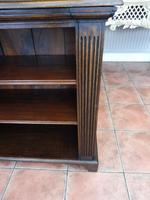 Waring & Gillow oak bookcase 1910 splits into 2 (9 of 10)