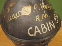 Antique Military Hat Tin Trunk, Lieutenant P Montgomery, A Quirky Bread Bin? (3 of 12)