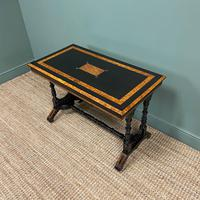 Spectacular Victorian Arts & Crafts Walnut Antique Centre Writing Table (6 of 6)
