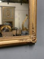 Large French gilt landscape overmantle mirror (4 of 6)