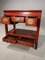 Attractive Late 19th Century 5 Drawer Side Table (2 of 4)