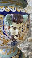 Montagnon French Majolica Jardiniere on Stand (2 of 16)