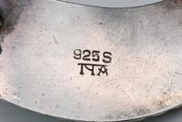 Norwegian silver and enamel brooch and earrings Andresen & Scheinpflug (3 of 3)