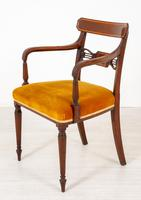 Set of 6 Sheraton Revival Dining Chairs (5 of 17)