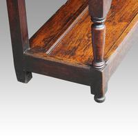 George III Oak Pot Board Dresser Base (13 of 13)