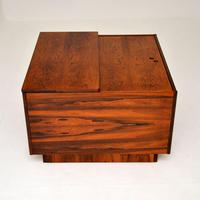 1960's Swedish Rosewood Drinks Cabinet / Coffee Table (10 of 13)