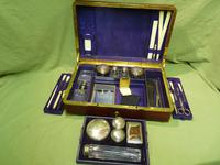 Quality French Fitted Travel – Vanity Box. c1880 (10 of 13)