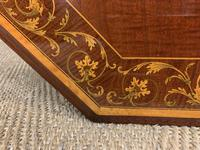 Edwards & Roberts Inlaid Mahogany Centre Table (14 of 15)