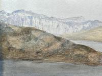 19th Century Scottish Highlands Watercolour Loch Kishorn By William Leighton Leitch (14 of 36)