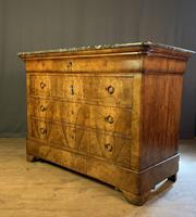 Large Louis Philippe Walnut Commode (8 of 12)