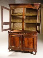 A Massive Mid 19th Century Provence Ash and Ash/Walnut Glazed Cupboard (2 of 4)