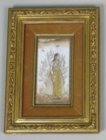 Good Pair of 19th Century Indian Paintings Aurangzeb & Dilras Banu Begum (9 of 11)