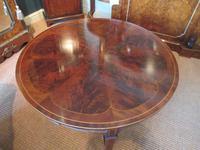 Fine Antique Figured Mahogany  'Sunburst Top' Coffee Table (2 of 6)