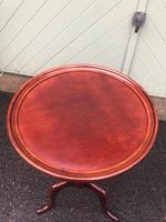 Antique Mahogany Tripod Wine Table (4 of 5)
